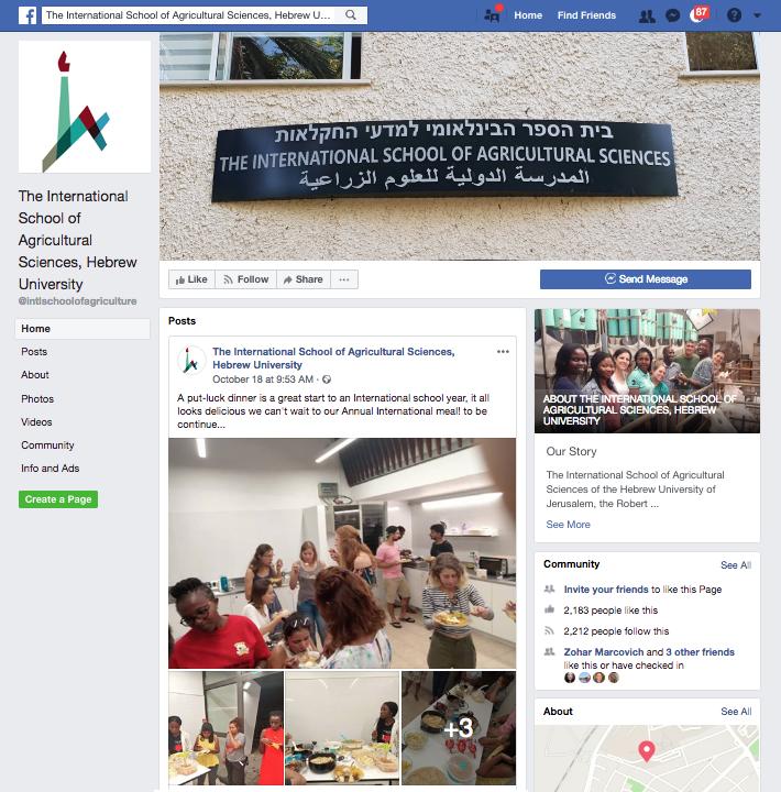 intschool facebook page