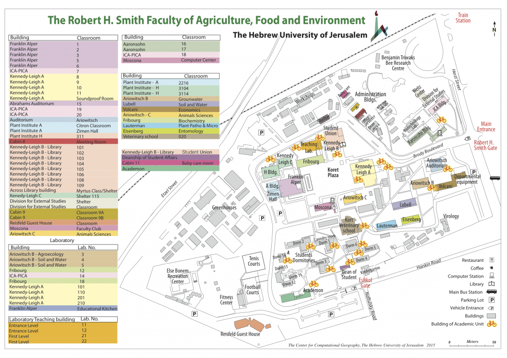 Campus Map The Robert H Smith