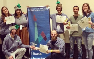Faculty Team Wins at iGem