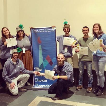 Faculty Team Wins at iGem