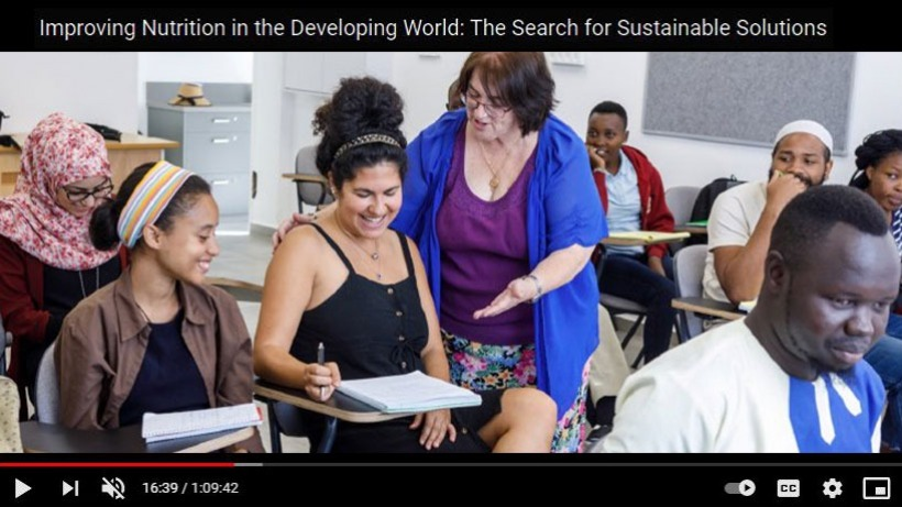 Improving Nutrition in the Developing World The Search for Sustainable Solutions